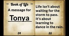 What is written in your Book of Life?
