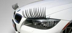I SO need car eyelashes