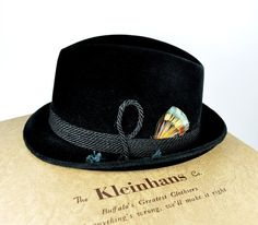 2326d67d12194 Dobbs German Alpine Hat size 7 by HoldTheWire on Etsy Traditional German  Clothing
