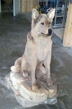 kettens genkunst adler chainsaw carving eagle kettens ge. Black Bedroom Furniture Sets. Home Design Ideas