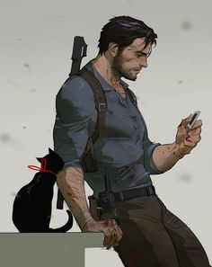 Sebastian Castellanos from The Evil Within II The Evil Within, Character Concept, Character Art, Concept Art, Dnd Characters, Fantasy Characters, Detroit Become Human, Game Art, Anime Guys