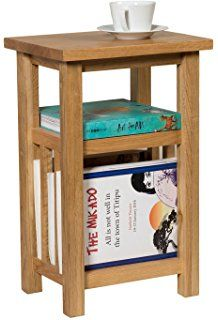 Side Tables With Storage narrow side table with magazine rack - a modern stylish storage