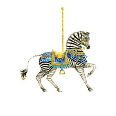 Cards Carousel Zebra - sarahperrylondon