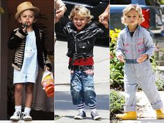 designer baby clothes: a peek into the world of a petite fashionista. Fashion Kids, Toddler Boy Fashion, All Fashion, Celebrity Babies, Celebrity Dresses, Kingston Rossdale, Well Dressed Kids, Cool Kidz, Bunny Outfit