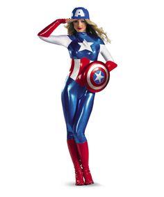American Dream Bodysuit Adult Womens Halloween Costume