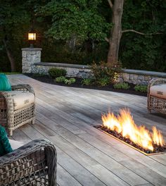 This Noon porcelain paver deck features an in-ground fire pit. The Effective Pictures We Offer You About outdoor patio A quality picture can tell you many things. You can find Read In Ground Fire Pit, Deck Fire Pit, Outside Fire Pits, Fire Pit Backyard, Outdoor Wall Fountains, Outdoor Patios, Outdoor Pergola, Outdoor Rooms, Paver Deck