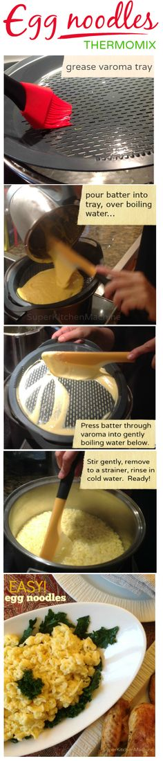 Heres one for friends @foodbloggersCA #BeEggsquisite: how we make egg #noodles