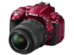 Nikon D5300 - This is the new camera I want to upgrade to before I leave for Russia in 2 weeks. Didn't realize it also came in red but kind of loving it!
