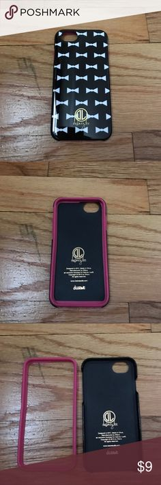 Bows IPhone 6 Case Like new. 2 piece case. iPhone 6/6s. Accessories Phone Cases