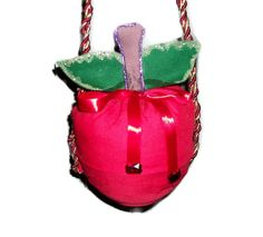 Red Apple Purse Twilight Snow White Red Apple by GourmetHandbags, $14.00