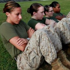 All women are created equal. And then some become Marines.