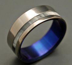 When you entered the room     Minter + Richter   Titanium Rings - Unique Wedding Rings   Titanium Rings   Minter + Richter