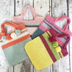 Couldn't resist another bag shot #Regram via @sweetpeafamilycrochet