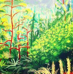 David Hockney iPad drawing