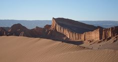 San Pedro de Atacama Valle de la Luna by MiguelVieira, via Flickr. This picture is under Creative Commons Attribution 2.0 Generic license - learn about the license on the website. #sand #desert #wilderness #sunny #brown #blue