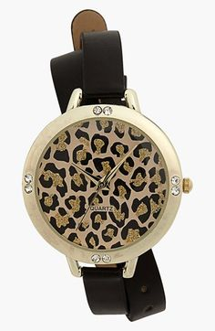 Double wrap leopard watch - $20!  Great stocking stuffer!
