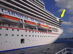 Carnival cruise Captains suite