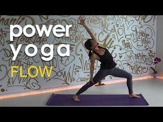 Intermediate Power Yoga Flow for Spring - YouTube