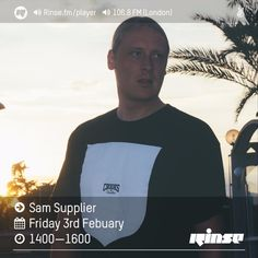 Rinse FM Podcast - Sam Supplier - 3rd February 2017 by Rinse FM on SoundCloud