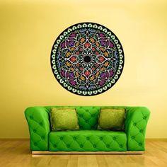 Color Wall Decal Vinyl Mural Sticker Art Decor Bedroom Flowers Mandala Menhdi Curly (Col14) by StickersForLife StickersForLife http://www.amazon.de/dp/B017S58S5S/ref=cm_sw_r_pi_dp_u.KRwb1TNGNWY