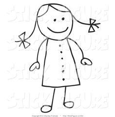 stick figure clip art | Stick Figure Clip Art © C Charley-Franzwa
