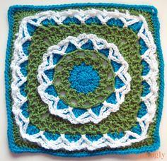 Kicking Off the 2014 Moogly Afghan Crochet-a-Long: Block #1!