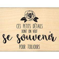 Boutique scrapbooking - Tampon Florilèges design tampon souvenir toujours