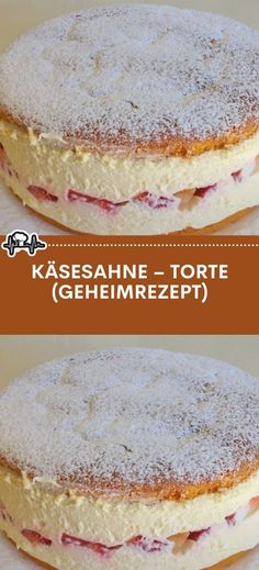 Käsesahne – Torte (Geheimrezept) – Die Küche Other Recipes, Sweet Recipes, Bounty Chocolate, German Baking, Naked Cakes, Caramel Recipes, Love Eat, Christmas Desserts, No Bake Desserts