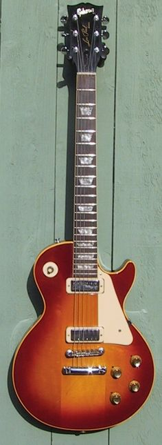 Gibson 1972 Les Paul Deluxe Cherry Sunburst with Factory Grover Tuners