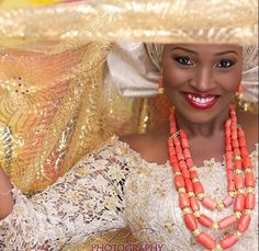 Get super gorgeous for your wedding with these Traditional Bridal Makeup! Nigerian Makeup artists are showing their artistic skills by giving the bride a perfect makeup that will make her irresistible for her man. Wedding Makeup is about looking at yourself at the most beautiful.Soft pink...