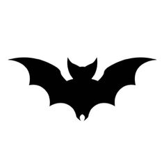 Bat Silhouette Stencil 01 - Real Time - Diet, Exercise, Fitness, Finance You for Healthy articles ideas Halloween Rocks, Holidays Halloween, Fall Halloween, Halloween Decorations, Halloween Stencils, Halloween Drawings, Halloween Silhouettes, Bat Stencil, Imprimibles Halloween