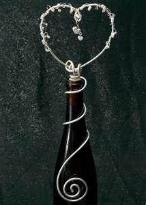 Wire Wine bottle topper
