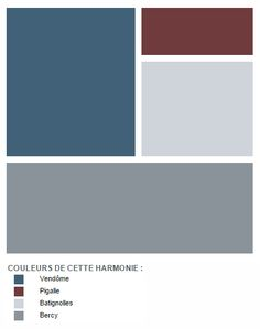 Vendôme is in the spotlight: an intense blue, very urban. To associate with … - Red Wall Colors, House Colors, Living Room Grey, Living Room Decor, Boys Bedroom Paint, Porch Paint, Garden Deco, Room Color Schemes, Interior Decorating
