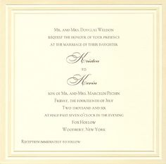 Crazy Wedding Invitation Wording