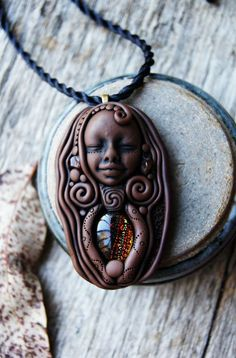 RESERVED for Sara Part Payment Tribal Goddess Carnelian by TRaewyn