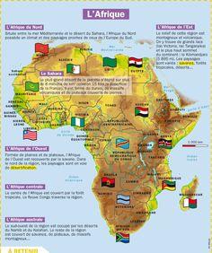 Fiche exposés : L'Afrique