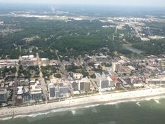 View from the helicopter : )