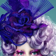 A Look Inside Tim Palen's Photographs From The Hunger Games - Effie Trinket  - from InStyle.com