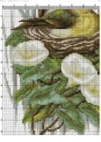 "Gallery.ru / kento - Альбом ""69"" Sea World, Cactus Plants, Cross Stitch, Birds, Pattern, Animals, Crossstitch, Log Projects, Dots"