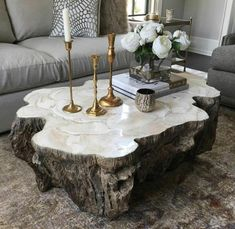 : homedecorinspiration latestobsession pumpsandpouts obsessed please coffee table have this can iCan I have this coffee table please! Can I have this coffee table please! Faszinierend mit Harz und Wood resin table, Resin furniture, Diy epoxy, Epoxy r Tree Trunk Table, Tree Coffee Table, Natural Wood Coffee Table, Cool Coffee Tables, Cofee Tables, Living Room Coffee Tables, Coffee Table High Gloss, Country Coffee Table, Art Deco Coffee Table