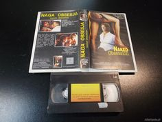 """NAGA OBSESJA - kaseta Video VHS - 1396 Sklep """"ALFA"""" Opole - AlleOpole.pl (Opole)"""