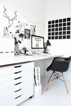 Mooi zwart/wit kleurenpalet.