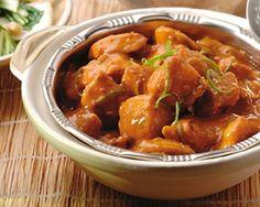 Thaise kipcurry met limoen, gewokte paksoi en witte rijst