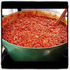 Pioneer Woman Spaghetti Sauce.
