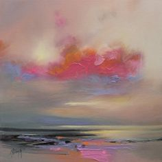 Magenta Cloud Canvas Print by Scott Naismith Landscape Drawings, Landscape Illustration, Abstract Landscape, Landscape Paintings, Abstract Art, Art Paintings, Canvas Wall Art, Canvas Prints, Design Digital