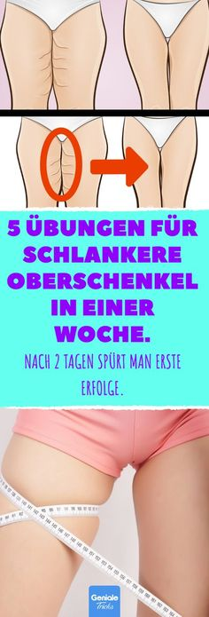 5 Übungen für schlankere Oberschenkel in einer Woche. 5 exercises for slimmer thighs in a week. # thighs & & # for # thighs The post 5 exercises for slimmer thighs in a week. # thigh appeared first on Leanna Toothaker. Fitness Workouts, Tips Fitness, Fitness Planner, Wellness Fitness, Fitness Goals, Yoga Fitness, Fun Workouts, Fitness Motivation, Health Fitness