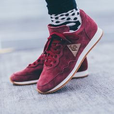 Le coq sportif pretty shoes red spring