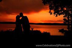 Watching the #sunset with the one you love <3 #weddingphotography #lehighvalley #berkscounty #centralpa #poconos #celebrationspa #romantic #brideandgroom www.celebrationsdjphoto.com