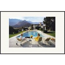 """Getty Images """"Poolside Glamour,"""" Slim Aarons, January 1970 - all - Soicher Marin Slim Aarons Prints, Environmental Portraits, Desert Homes, Bath, Town And Country, Home Living, Living Room, Palm Springs, Decoration"""
