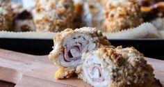 Oven Baked Chicken Cordon Bleu